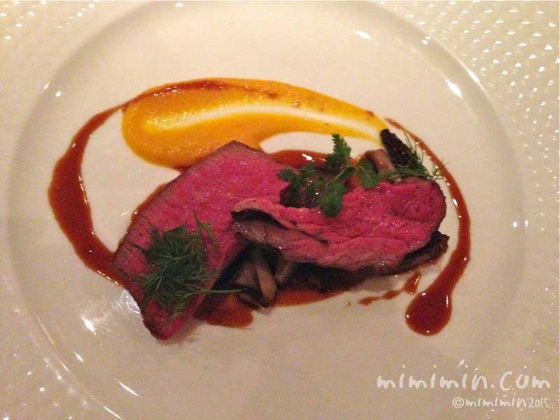 国産牛フィレ肉の備長炭焼の写真