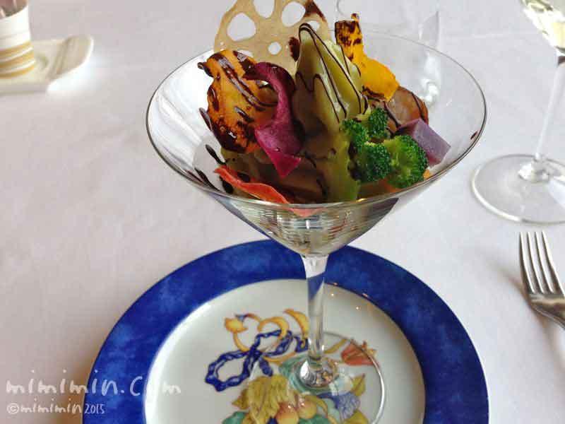 ビクターズの野菜のパフェの画像