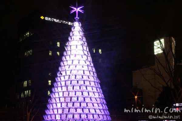 2015年六本木ヒルズのクリスマスツリーの写真