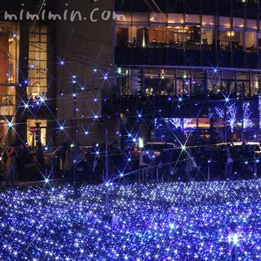 東京ミッドタウンのクリスマスイルミネーション2015年の写真