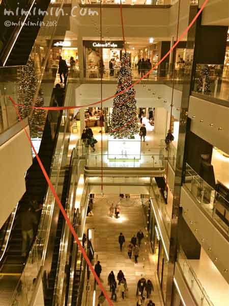 梅田グランフロント大阪のクリスマス2013年の写真
