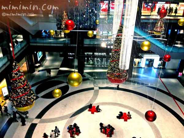 梅田グランフロント大阪のクリスマスの写真