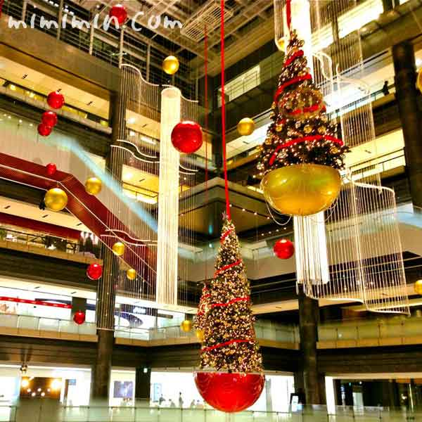 グランフロント大阪のクリスマスの画像