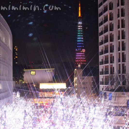 東京タワーの写真