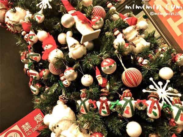 ロフトのクリスマスツリーの画像
