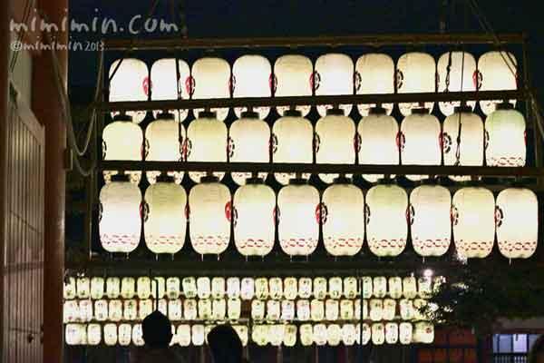 提灯(京都八坂神社)の画像