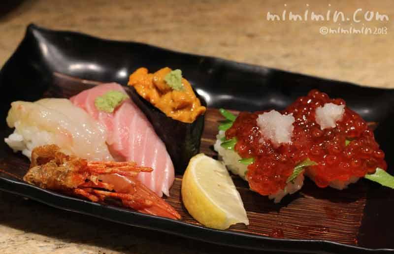 京都 CHOJIRO 四条木屋町店のにぎり寿司の画像13-12-4