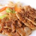 豚の生姜焼きの写真