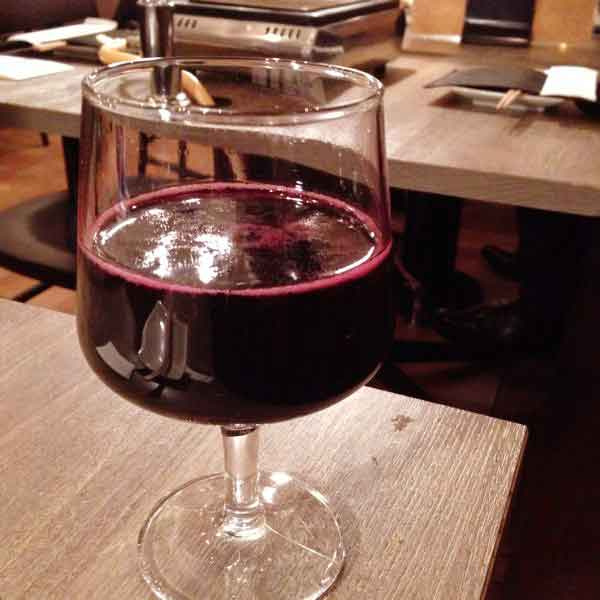 スパークリング赤ワイン(うしごろバンビーノ)の画像