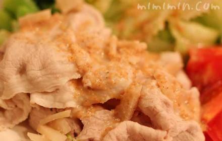 豚しゃぶサラダの画像