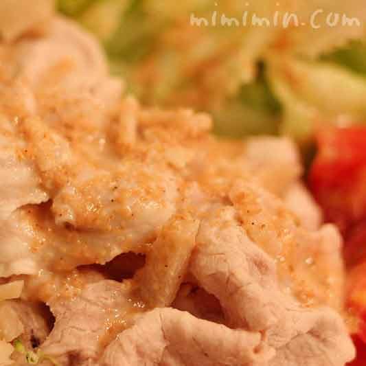 豚の冷しゃぶサラダの画像