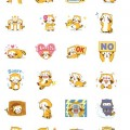 LINEスタンプ・Happy☆ラスカル アニメスタンプの画像