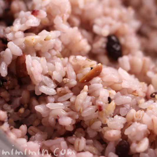 十五穀米の写真