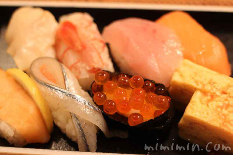 にぎり寿司 旬ネタ握り