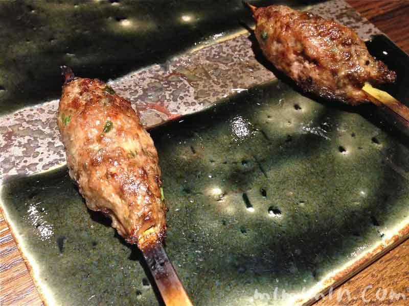 鴨串焼き つくねの画像
