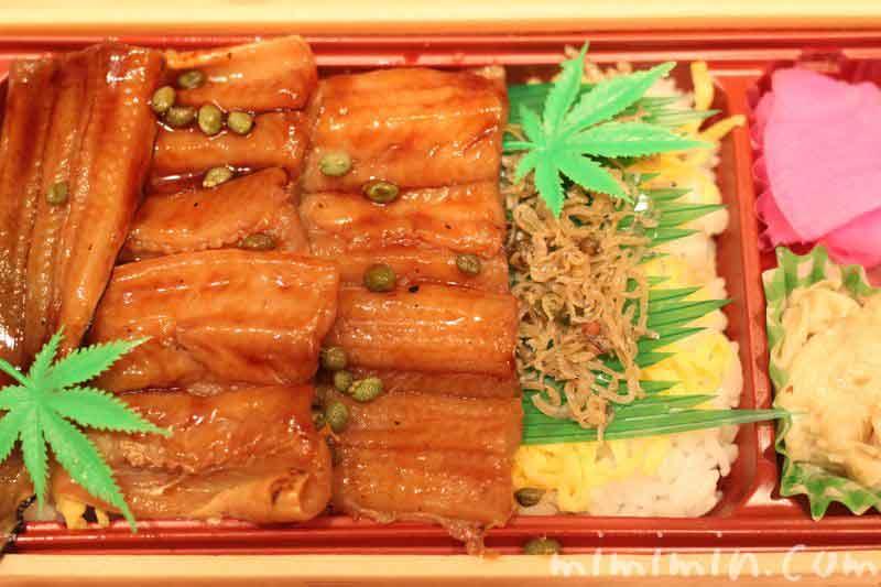くらま辻井のあなごのお弁当の画像の画像