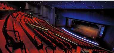 東京宝塚劇場の2階席の画像