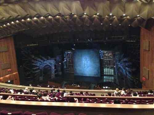 帝劇(帝国劇場)2階席の写真