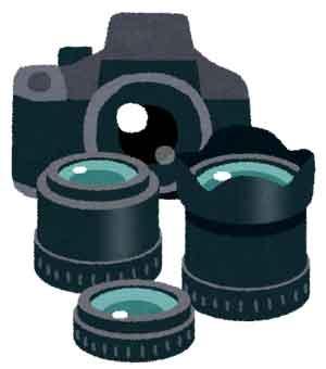 一眼レフカメラの画像