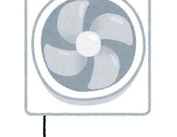換気扇が効かないイメージ画像