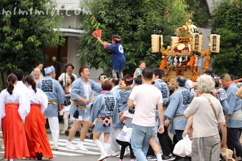 目黒三田春日神社 例大祭の画像