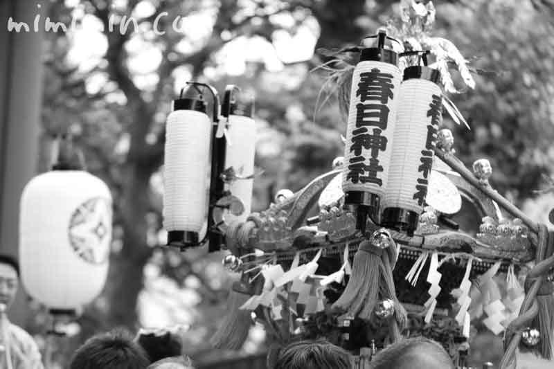春日神社 例大祭の写真