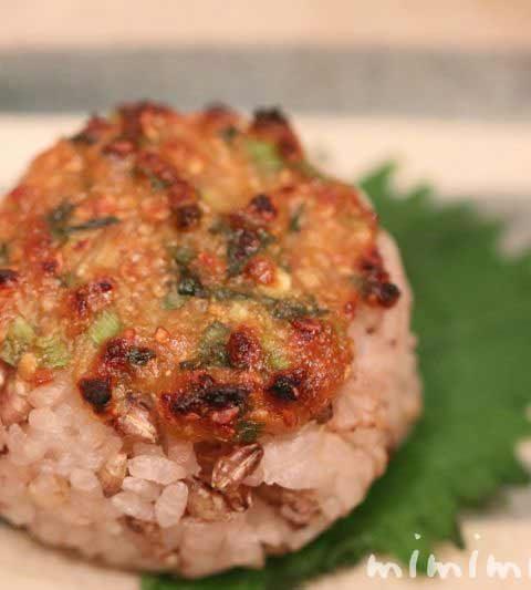 田楽ゴマ味噌焼きおにぎりのレシピ|おにぎりアクション!
