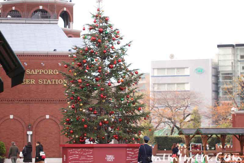 恵比寿ガーデンプレイスのクリスマスツリー(2016年)の写真