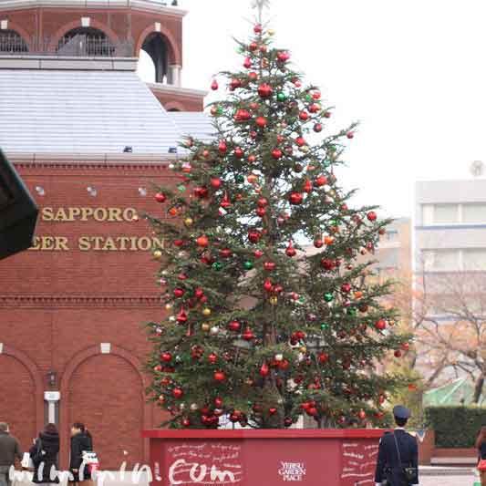 恵比寿ガーデンプレイスのクリスマスツリー2016の画像