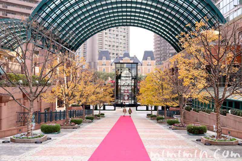 恵比寿ガーデンプレイス紅葉とバカラの画像