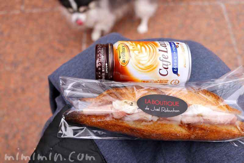 ジョエルロブションのサンドイッチの画像