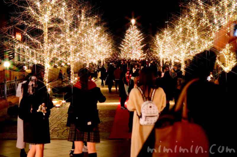 クリスマスツリー(恵比寿ガーデンプレイスのクリスマスイルミネーション)