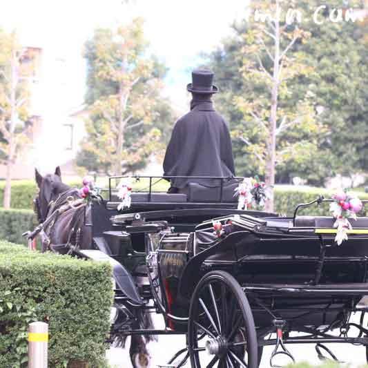 恵比寿の馬車の画像