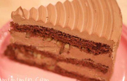チョコレートケーキ・HARBS・季節のケーキの画像