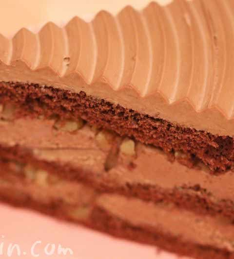 ハーブス・チョコレートケーキ(季節のケーキ)とミルクレープ