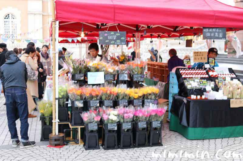 恵比寿マルシェの花屋の画像