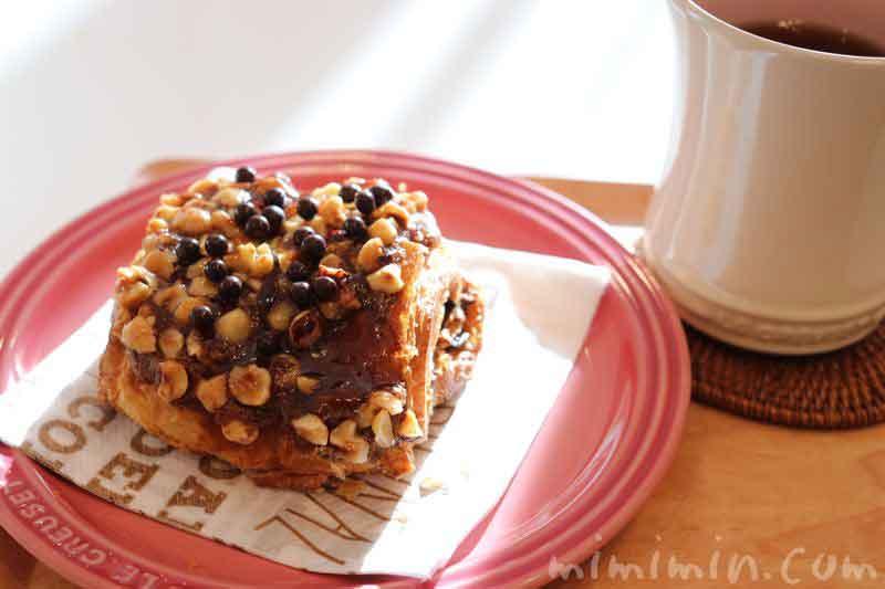 カフェショコラ(ジョエルロブションの菓子パン)の写真