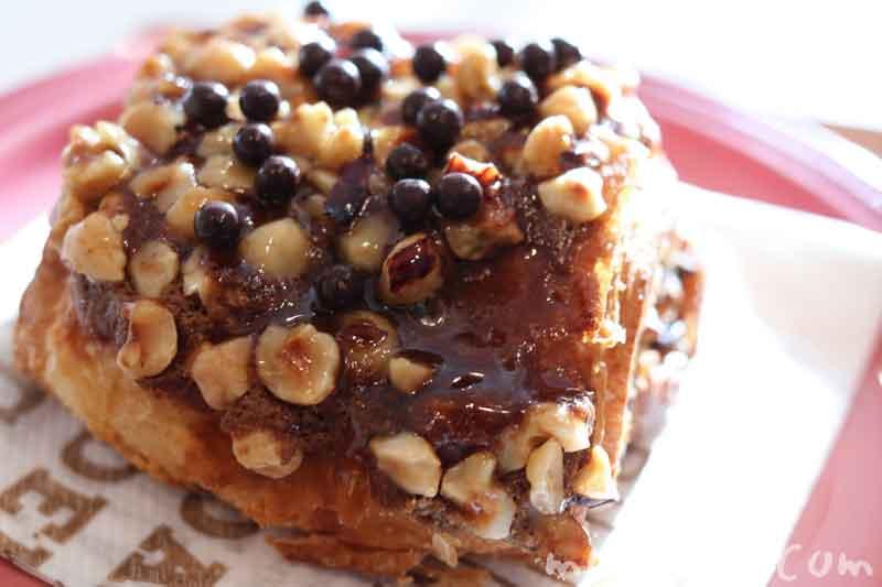カフェショコラ(ジョエルロブションのパン)の画像
