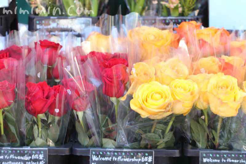 バラの花・恵比寿ガーデンプレイスの恵比寿マルシェの画像