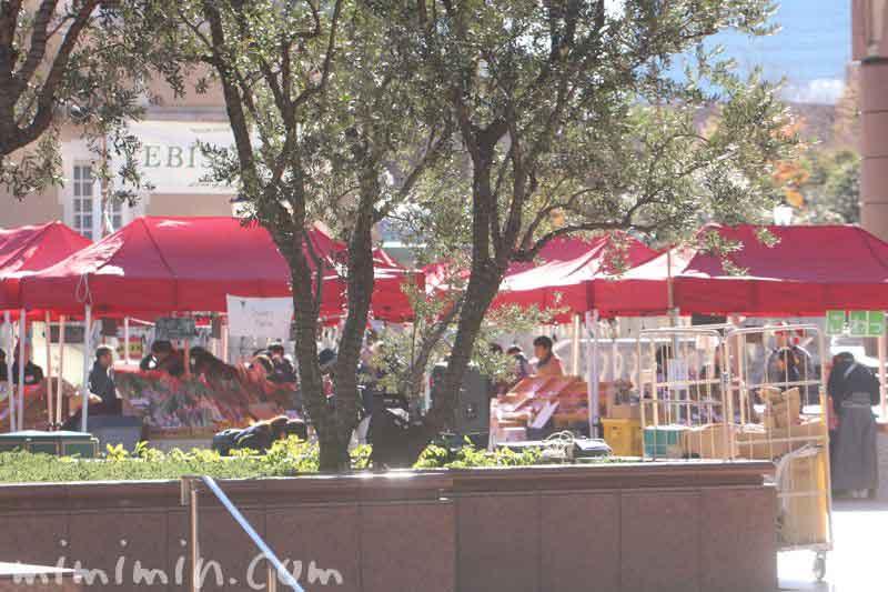 恵比寿ガーデンプレイスの恵比寿マルシェの写真