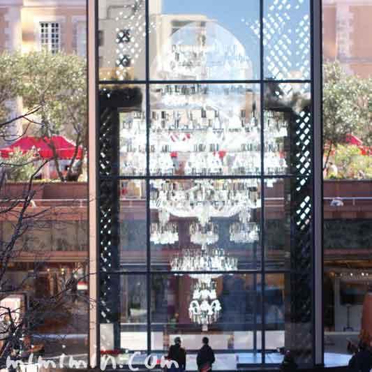 恵比寿ガーデンプレイス・バカラのシャンデリアの写真