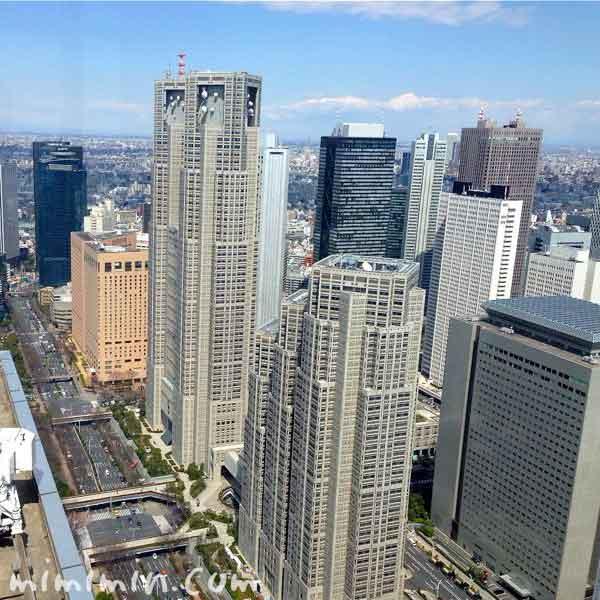 パークハイアット東京からの景色の写真