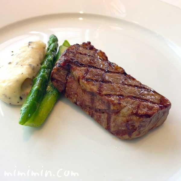 ニューヨーク・グリルのビーフステーキの画像