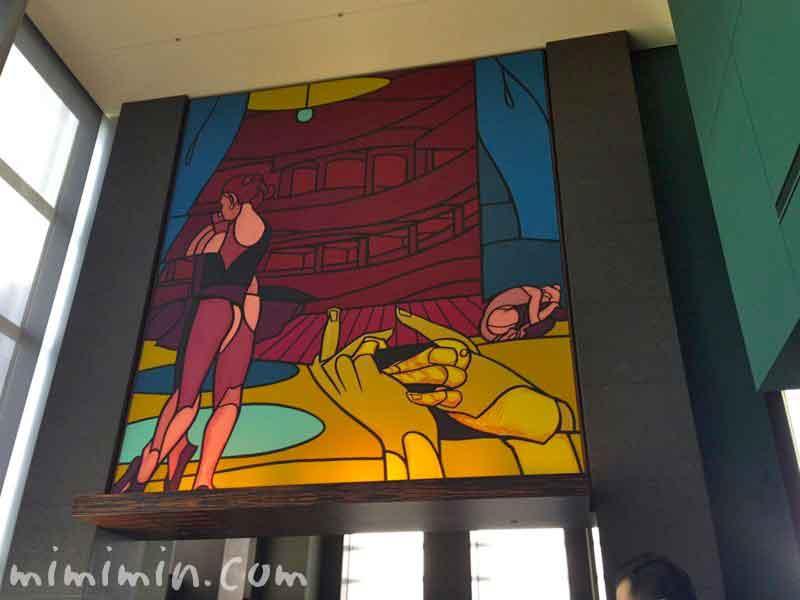 新宿パークハイアット・ニューヨーク・グリルの絵画の写真