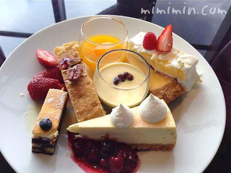 ニューヨーク・グリルのランチのデザート
