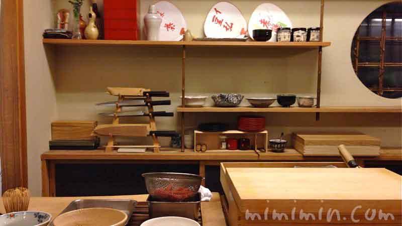 京しずく(恵比寿)の店内の画像