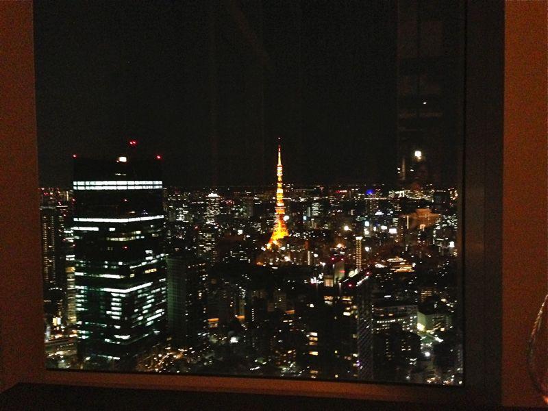 リッツカールトン・タワーズの夜景の画像