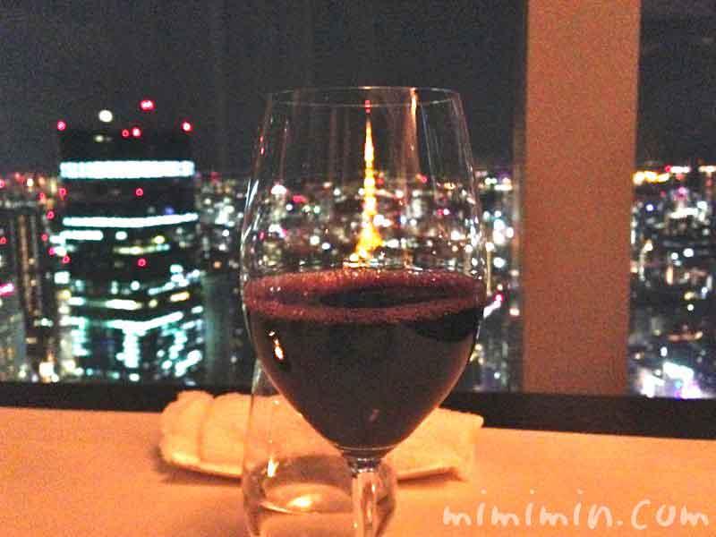 赤ワイン・リッツカールトン東京の写真