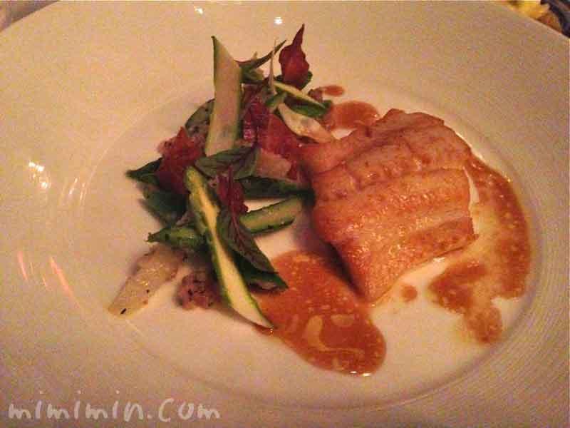 アイナメ・リッツカールトン・タワーズの鮮魚料理の画像
