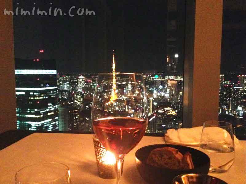 デザートワイン・リッツカールトン・タワーズの写真